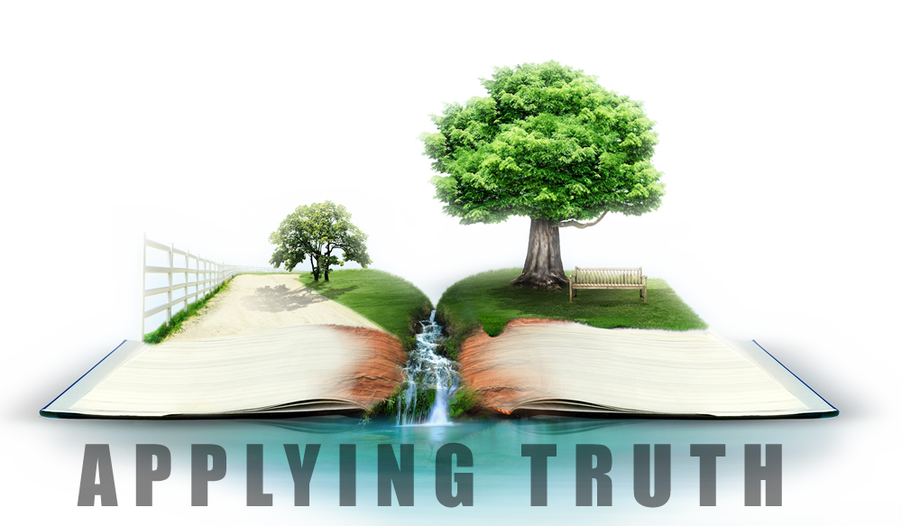 Applying Truth – Workshops for your church / families /schools